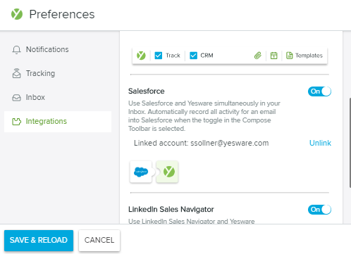 Yesware's Salesforce Gmail Integration – Yesware Help Center